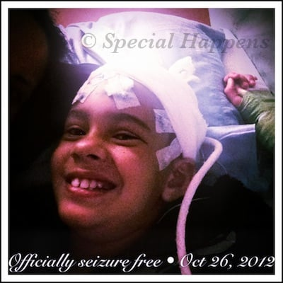 Officially Seizure Free