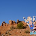 \'There\'s 2 of me @ Delicate Arch!\'